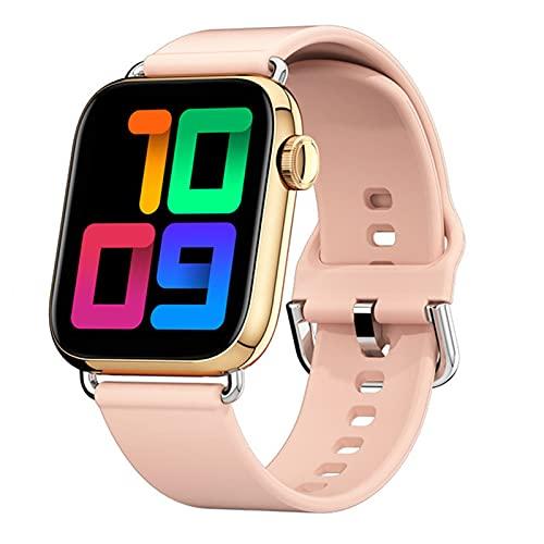 YDK QY03 Smart Watch Men's Reloj de Hombres de 1.7 Pulgadas Control de cámara Presión Arterial y monitoreo del sueño Reloj de Mujer para Android iOS,C