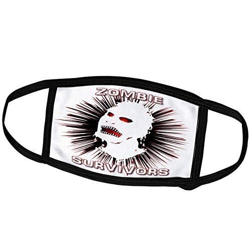 Promini Monatsmaske – Mark Grace Zombie Survivors Icon – Icon Zombie Survivors auf transparent – Staubmaske Outdoor-Schutzmaske