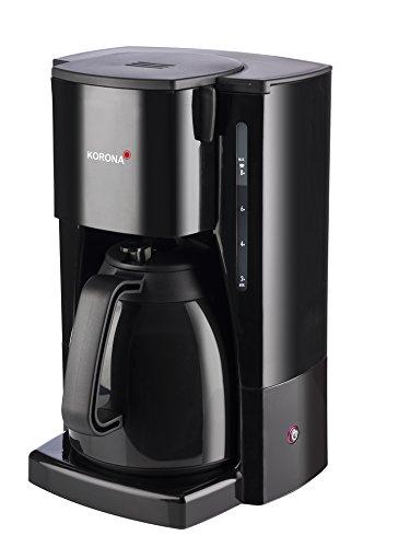 Korona 10411 Kaffeemaschine mit Thermokanne - Filter Kaffeeautomat mit Kapazität für 8 Tassen Kaffee
