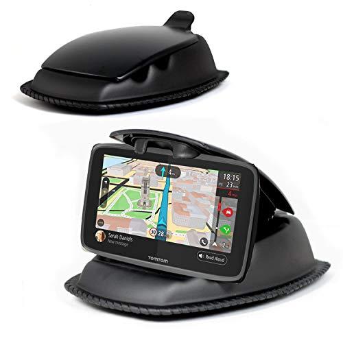 Navitech Schwarz Ultra Halt Armaturenbrett Montierung - Kompatibel Mit Dem Garmin Drive 40 LMT CE 4.3 Inch