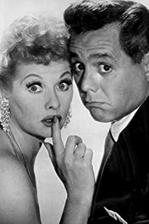 Desi Arnaz And Lucille Ball Journal: Famous People Notebook With 120 Lined Pages, Legendary Celebrities, Actors, Actress, ...