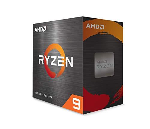 AMD Ryzen 9 5900X 12-core, 24-Thread Unlocked Desktop Processor Without Cooler