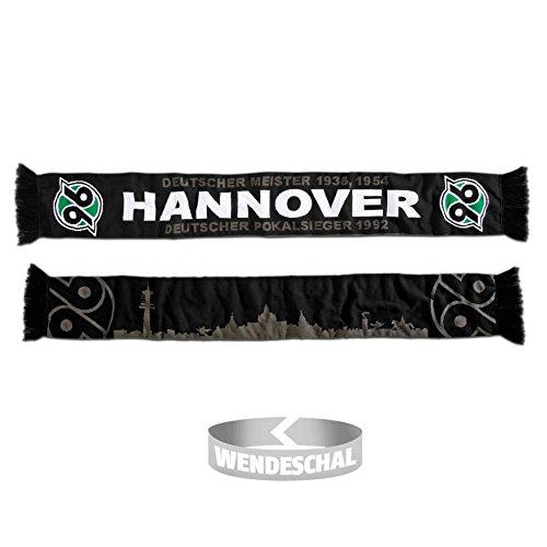 Hannover 96 Schal / Wendeschal / scarf / rassis / viciado H96 Fanschal