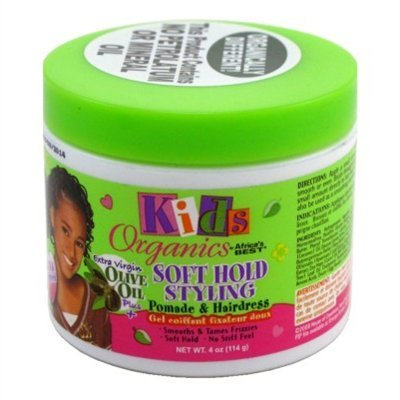 Africas Best Kids Org Pomade & Hairdress 4oz Jar (3 Pack)