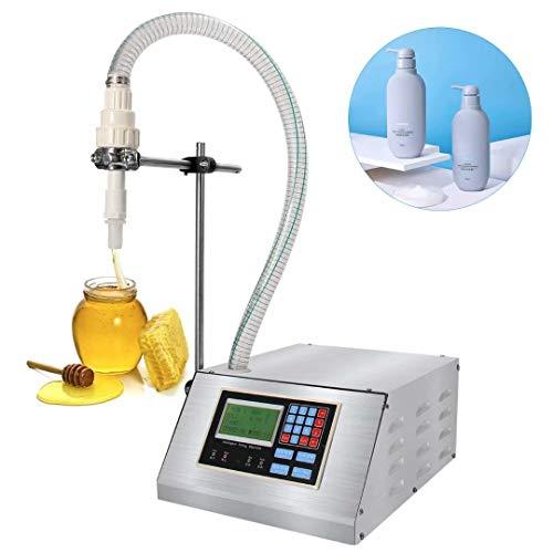Mangom Viskose Flüssigkeitsfüllmaschine , Honigflaschenfüller , Kleine automatische quantitative manuelle Spaltmaschine , 17 l/min Flüssigkeitsfüller mit großem Durchfluss für Pflanzenöl, Shampoo
