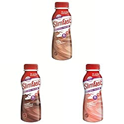 One shake replaces one meal Each shake contains 206 kcal Bundle contains 6x Café Latte, 6x Chocolate and 6x Strawberry