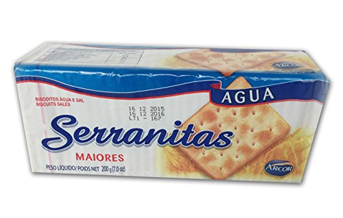 Serranitas Crackers 200g