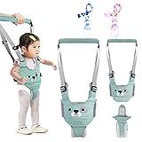 gvoo arnés bebe para caminar,arneses tirantes niños,andador chaleco ajustable para aprender andar con dos cadenas para chupetes