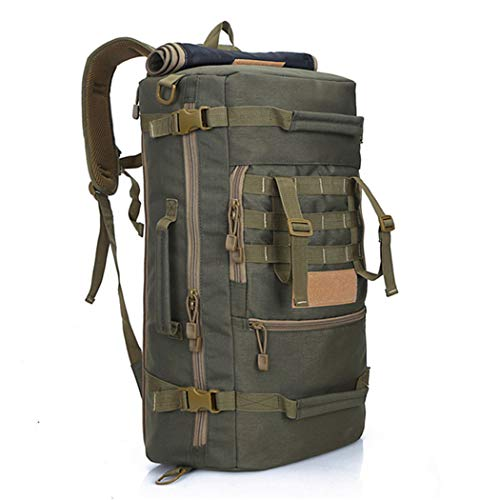 Tactics Backpack Large Capacity Travel Bag Pack Waterproof Nylon 3P Army Military Equipment School Bag Army Green