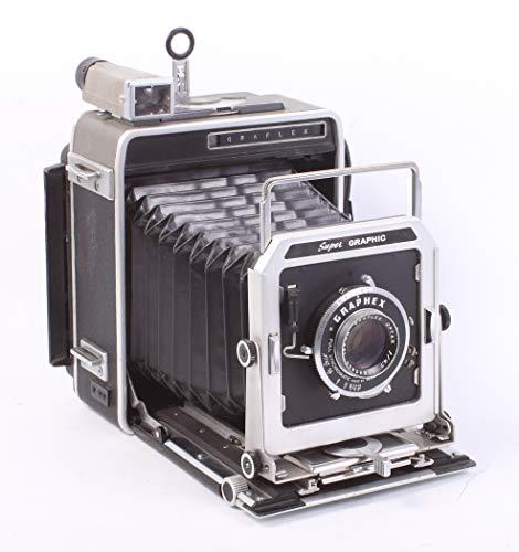 Affordable GRAFLEX Super Graphic 4X5 Camera W/OPTAR 135MM F4.7 Lens