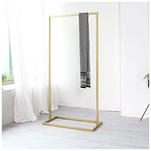 NIUZIMU kapstok, ijzer gouden garderobe kledingrek slaapkamer vloerbedekking hoed kledingstandaard Mall ruimte kledinghoed rek -123