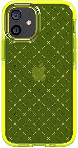 tech21 EVO Check - Carcasa antimicrobiana para Apple iPhone 12 Mini 5G (protección contra gérmenes)