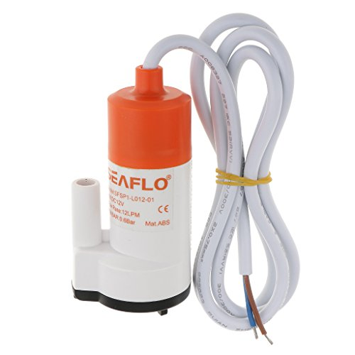 SeaFlo Marine Wasserdruckpumpe 12 V DC 12L 3,2 GPM Boot 1/2