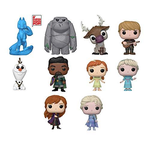 Funko Pop!: Bundle of 10: Frozen 2 - Anna, Elsa, Young Elsa, Young Anna, Olaf, Mattias, Kristoff, Sven, Earth Giant and 6 Water Nokk