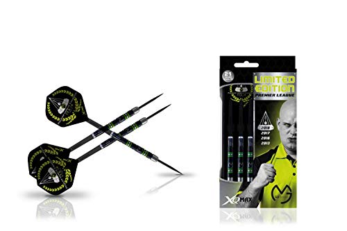 XQmax Michael Van Gerwen Premier League Limited Edition 90% Black-Tungsten (23g)