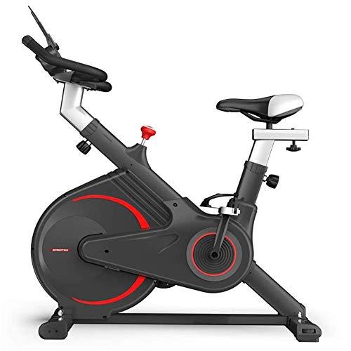 DKDYBR Bicicleta Ejercicio Correr Casa, Equipo Gimnasia Mujer Giratoria AplicacióN Juego Inteligente Ajuste Resistencia Ejercicio Bien, Pedal PéRdida Peso Bicicleta Deportiva Interior,Negro