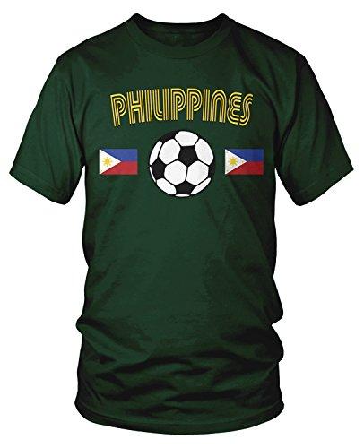 Amdesco - Camiseta de fútbol de Filipinas para Hombre - - Large