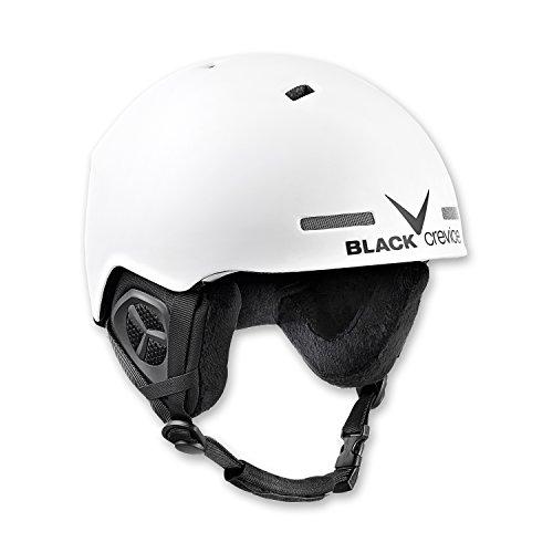 Black Crevice Erwachsene Skihelm Aspen, weiß, S/M = 54-58 cm