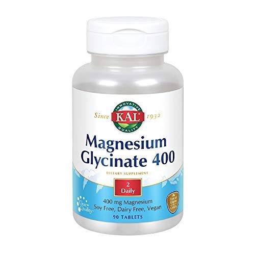 Kal Magnesium Glycinate - 400 mg - 90 Tablets