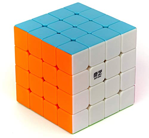 Cubo Mágico Profissional 4x4x4 Qiyi Qiyuan S Stickerless