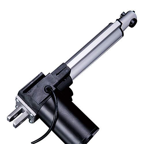 QBLDX Actuador Lineal Eléctrico 24V 6000N / 60KG, Carga Alta 50/100/150/200/250/300/350/400/450/500mm Carrera Opcional Aplicar para RV Coche Puertas Y Ventanas(Size:150mm,Color:24V)