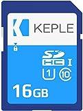 Keple 16GB Tarjeta de Memoria SD Card | Clase 10 SD Memory Card Compatible con Nikon Coolpix W100, B500, B700 SLR Camara | 16 GB UHS-1 U1 Class 10 SDHC
