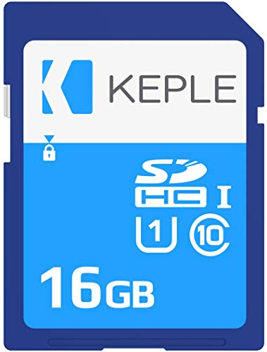 16GB SD Speicherkarte | SD Karte Kompatibel mit Canon EOS 70D, 6D, 100D, 600D, 1100D, 1200D, 60D, 550D, EOS 700D DSLR Digitalkamera Kamera | 16 GB UHS-1 U1 Class 10 SDHC