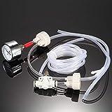 Anself - DIY Kit de sistema de CO2 generador con presión aire medidor flujo ajuste Vavle agua planta acuario accesorio necesidad