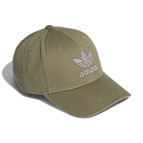 adidas Classic Women Trefoil Cap (OSF Women, Khaki)