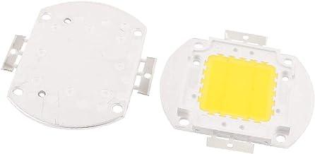 X-DREE 2Pcs 32-34V 20W LED Chip Bulb Warm White Super Bright High Power For Floodlight (4dd63fca-a222-11e9-8d7c-4cedfbbbda4e)