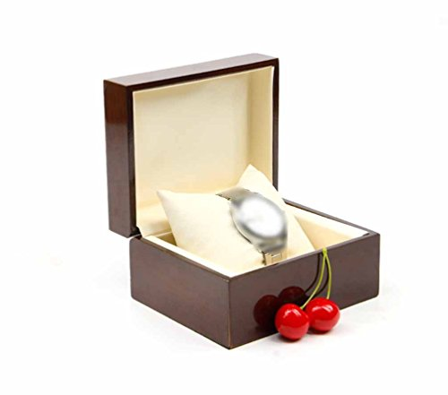 Demarkt Relojes Caja Plana veranstalter Premium Madera Caja joyas pulsera almacenar regalo caso