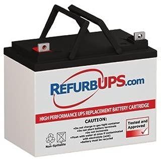 RefurbUPS Panasonic LC-LA1233P Compatible Replacement Battery