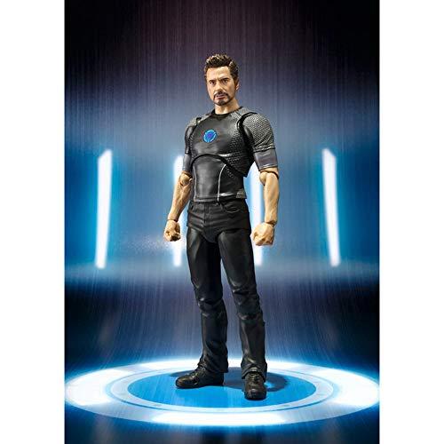 Collectible Figure Tony Stark Avengers Iron Man SammelfigurenModel Figur Statue Spielzeug 17cm