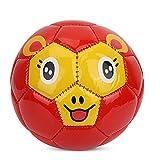XuZeLii Fútbol Pequeño balón de fútbol Tamaño 2 Niños Bebé Niños Fútbol Interior para Exteriores Juguetes al Aire Libre Deporte Kindergarten Fútbol Mini fútbol Adecuado para Juegos Al Aire Libre