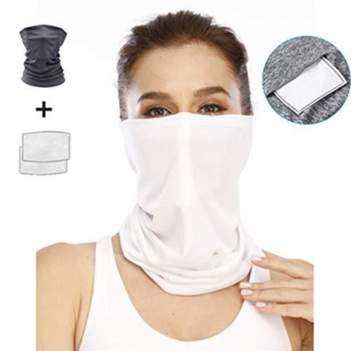 FEFCK Riding Headband Bandanas, Sports Balaclava, Dust and UV Protection, Cool Ice Silk Headscarf, Multicolor A