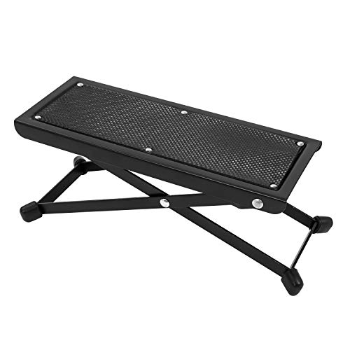Cascha Reposapiés para guitarra, Guitar Foot Bench,