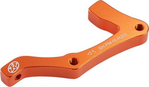 Adaptador de discos de frenos Shimano IS-PM 203 de Reverse,trasera naranja