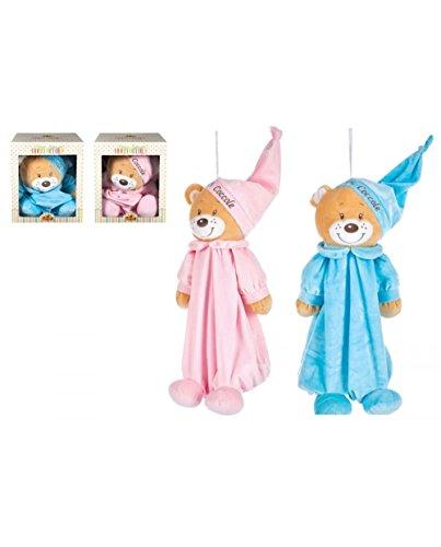Teddybär 27677 rosa/hellblau