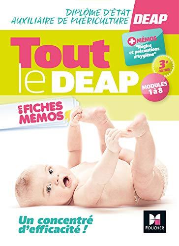 Tout le DEAP en fiches mémos - Diplôme d'État Auxiliaire de puériculture - 3e ed.- Révision (Blocs - Auxiliaire de Puériculture)