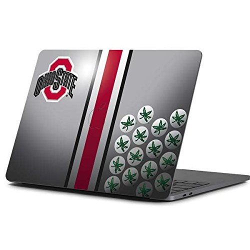 Skinit Decal Laptop Skin for MacBook Pro 13-inch (2016-17) - Officially Licensed Ohio State University Ohio State University Buckeyes Design