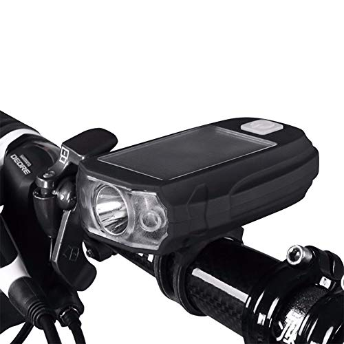 NENGGE 450 Lumen Bike Light, 3 Light Mode Super Bright Fietshoofdlicht, USB Oplaadbare Stoere Duurzame Bike Koplamp