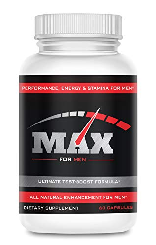 Max 1000- Male Enlargement and Enhancement Pills- Increase Size, Length and Girth- Testosterone Booster and Performance Enhancer for Men- Gain Over 3 Inches Fast- 30 Day Supply