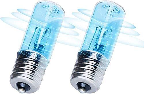 2-Pack bulbo esterilizador ultravioleta desinfección con