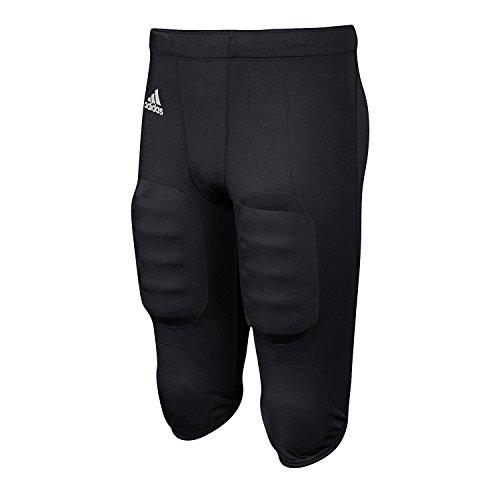 adidas Boy's Press Coverage Football Pant Black/White Large