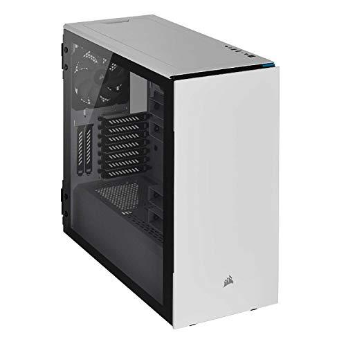 Corsair Carbide Series 678C - Vidrio Templado ATX Gaming Case, silencioso, color blanco