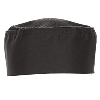 Chef Works unisex adult Cool Vent Chef Beanie apparel accessories Black One Size US