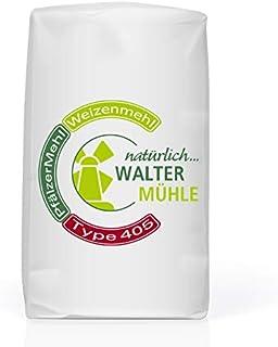 Weizenmehl unbehandelt| Type 405 | Walter Mühle | 1kg 10 Pack | Premium Bäckerqualität | Natur Pur