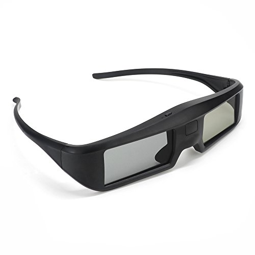 Docooler 3D Aktive Shutter Gläser G06-BT Virtual Reality Gläser Bluetooth Signal besonders für LG/Sony/Panasonic/Sharp/Toshiba/Mitsubishi/Philips/Samsung 3D TV Smart TV