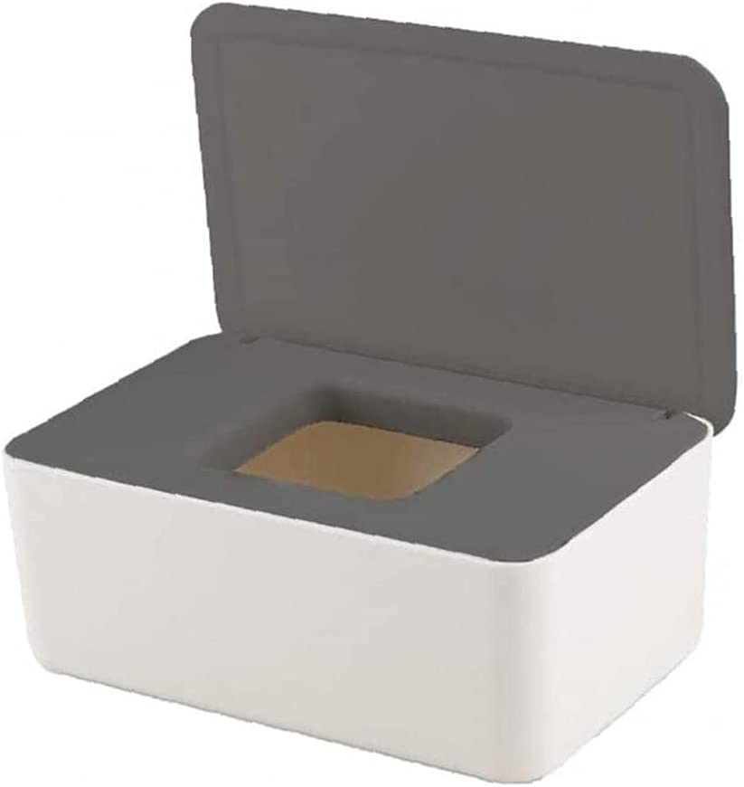Wipe Storage Box Dustproof Popular brand in the world Wipes with Max 55% OFF Tissue Holder