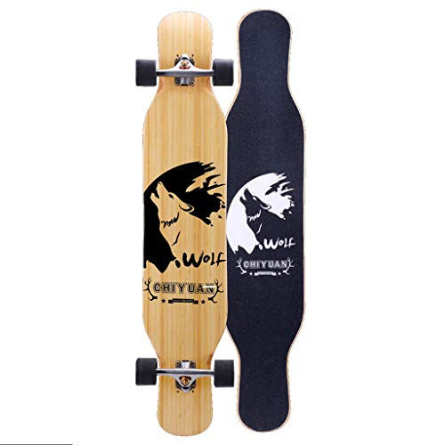 Fantastic Deal! Freestyle Longboard 46 Inch X 9 Inch Wide Deck Dancing Longboards Skateboard Pro Spe...